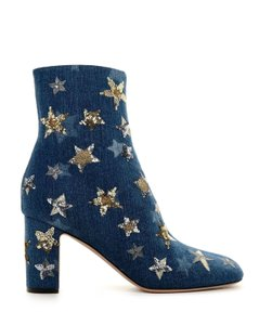 Valentino Denim Blue Boots