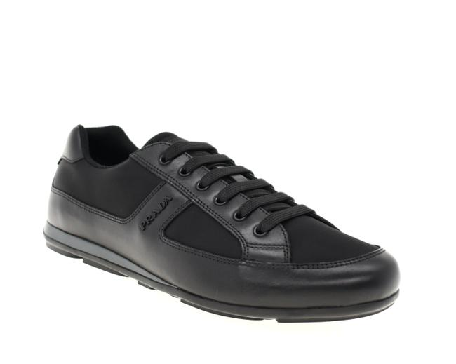 Item - Black Men Luxury Sneakers Size US 8.5 Regular (M, B)