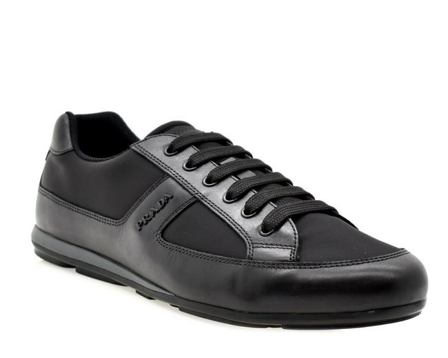 Item - Black Men Luxury Sneakers Size US 8 Regular (M, B)