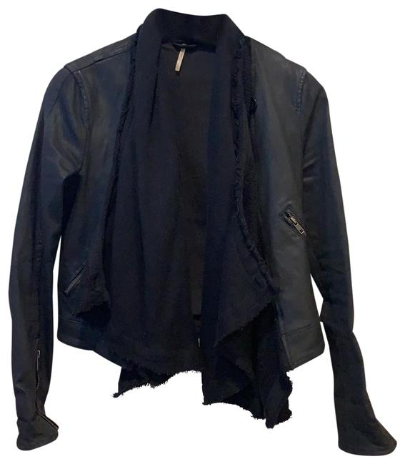 Free People Black Jacket Size 4 (S) Free People Black Jacket Size 4 (S) Image 1