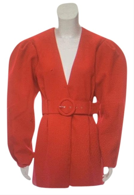 Item - Red Long Sleeve Mini Short Cocktail Dress Size 4 (S)