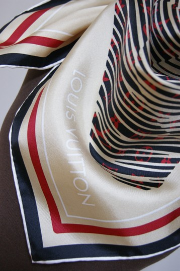 Louis Vuitton Monogram Almazing Alma Bag Silk Scarf Wrap Image 2