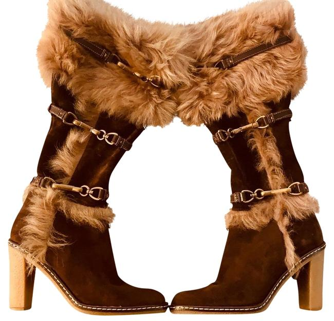 Item - Chestnut Brown Jessica Boots/Booties Size US 7.5 Regular (M, B)