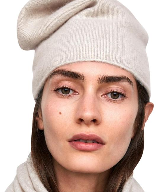 Item - Pink Cashmere Knit Beanie Winter One Size Hat