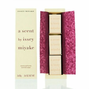Issey Miyake SOAP-A SCENT BY ISSEY MIYAKE-WOMEN-3x1OZ-FRANCE