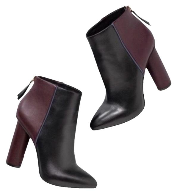 Item - Black Red Color Heeled #6004 Boots/Booties Size US 10 Regular (M, B)