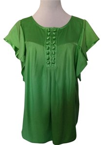 True Couture Top Kelly Green