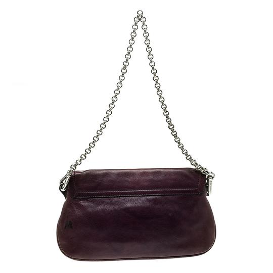 Prada Leather Chain Shoulder Bag Image 1