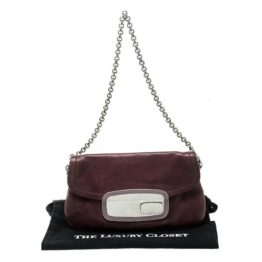 Prada Leather Chain Shoulder Bag Image 10