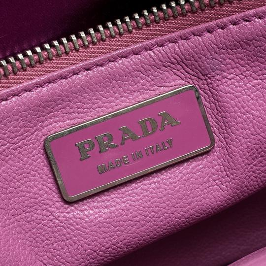 Prada Leather Chain Shoulder Bag Image 9