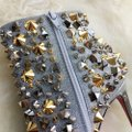 Christian Louboutin Silver with gold and silver studs Boots Image 1