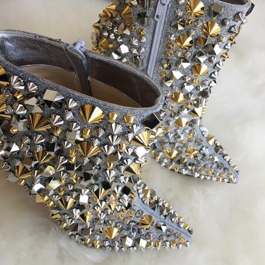 Christian Louboutin Silver with gold and silver studs Boots Image 2