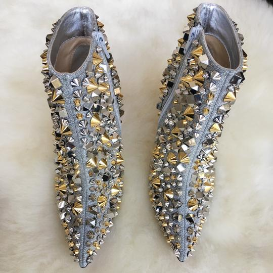 Christian Louboutin Silver with gold and silver studs Boots Image 3
