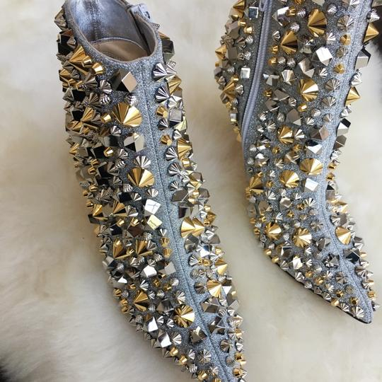 Christian Louboutin Silver with gold and silver studs Boots Image 4