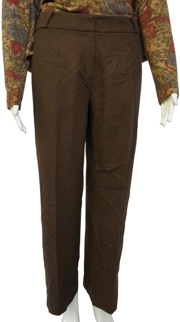 Item - Brown Warm Wool and Angora Flared Pants Size 12 (L, 32, 33)