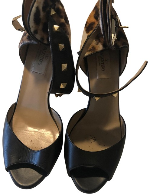 Item - Black Platforms Size EU 38 (Approx. US 8) Regular (M, B)