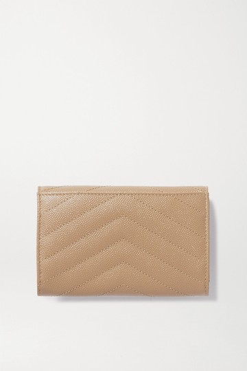 Saint Laurent Saint Laurent Monogram Loulou YSL Quilted Leather Small Wallet Image 2
