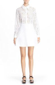 N°21 Lace A-line Fitted Dress