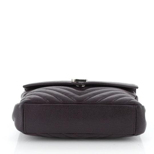 Saint Laurent College Leather Shoulder Bag Image 3