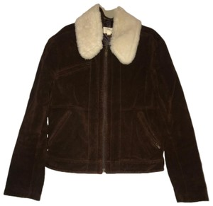 Billy Reid brown Leather Jacket