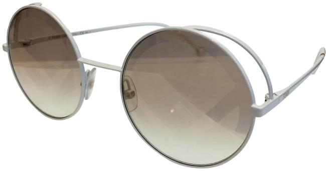 Item - White- Vk6/Eb Women's Ff 0343/S Fashion Round Sunglasses