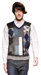 Desigual Men's Vest Sweater