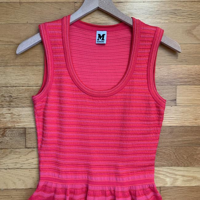 Missoni Striped Knit Stretchy Lined Dress Image 1
