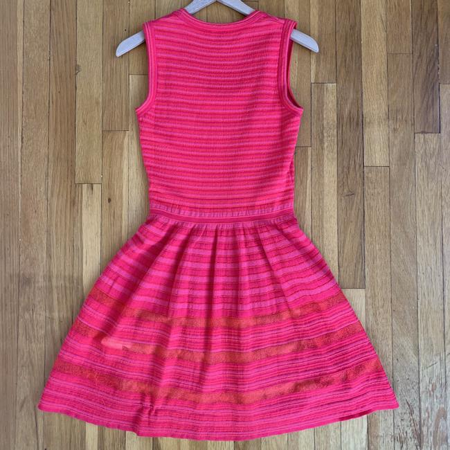 Missoni Striped Knit Stretchy Lined Dress Image 3