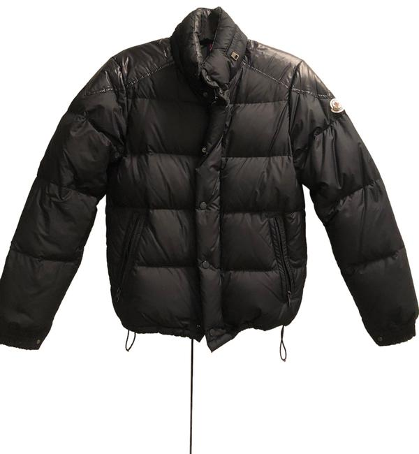 Item - Navy Goose Down Quilted Puffer Jacket Size 0 (XS)