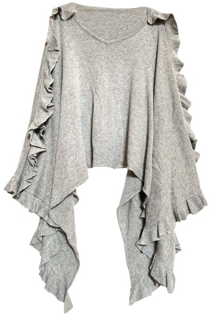Item - Grey Le Fee Verte From Shawl Collar Poncho/Cape Size 4 (S)