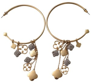 bebe Bebe Hoop Earrings