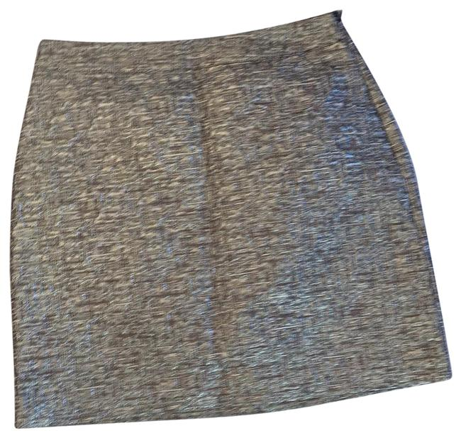 Item - Silver and Grey Skirt Size 2 (XS, 26)