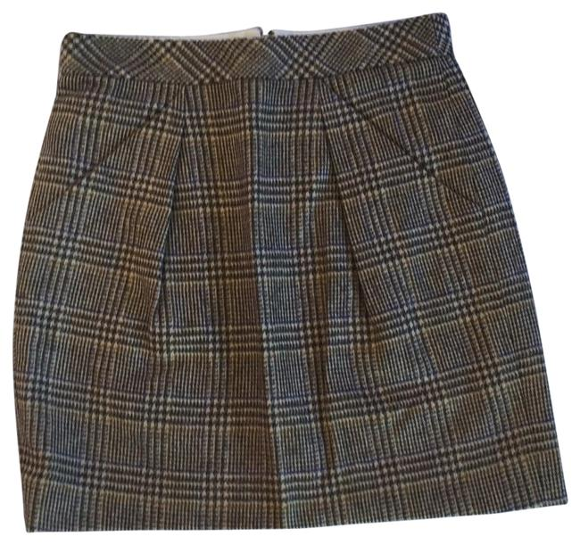 Item - Tan and Brown Crew Skirt Size 2 (XS, 26)