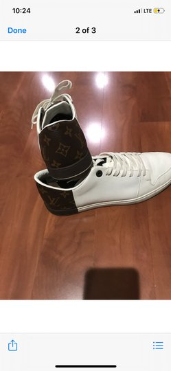 Louis Vuitton white , brown Athletic Image 1