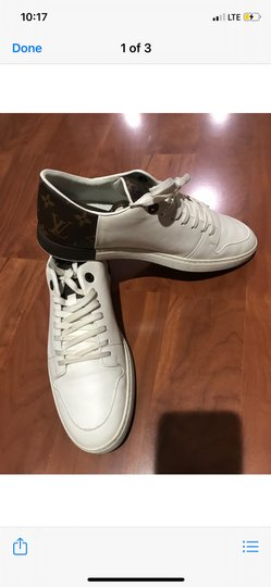 Louis Vuitton white , brown Athletic Image 3