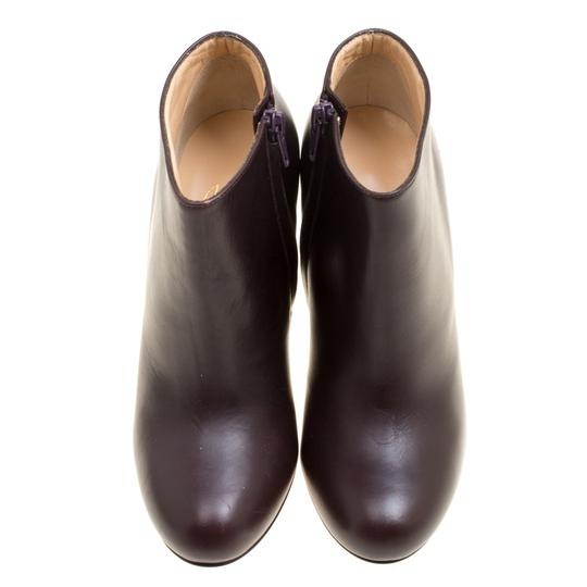 Christian Louboutin Leather Ankle Brown Boots Image 1