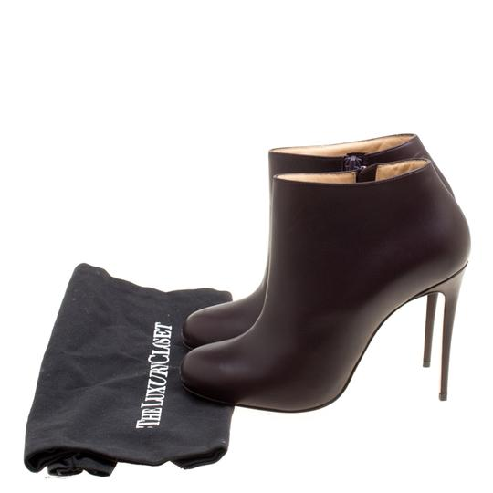 Christian Louboutin Leather Ankle Brown Boots Image 7