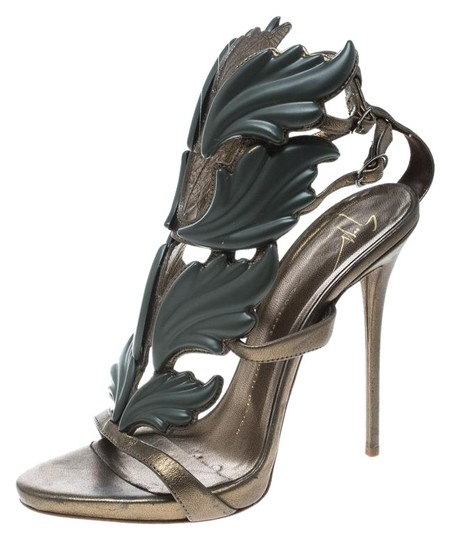 Preload https://img-static.tradesy.com/item/26426779/giuseppe-zanotti-green-leather-argent-metal-wing-embellished-strappy-sandals-size-eu-37-approx-us-7-0-1-540-540.jpg