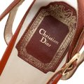 Dior Leather Ankle Strap Brown Sandals Image 4