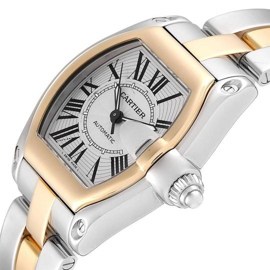 Cartier Cartier Roadster Yellow Gold Steel Automatic Mens Watch W62031Y4 Box Image 4