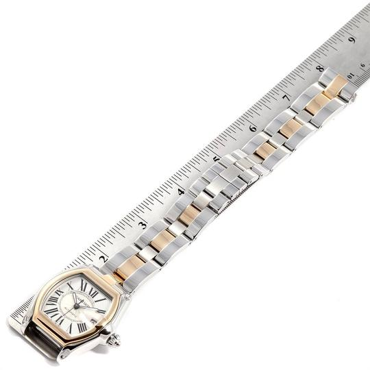 Cartier Cartier Roadster Yellow Gold Steel Automatic Mens Watch W62031Y4 Box Image 6