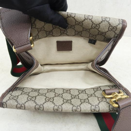 Gucci Ophidia Canvas Cross Body Bag Image 9