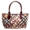 Burberry Pvc Canvas Tote in Tan Image 0