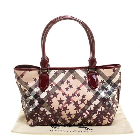 Burberry Pvc Canvas Tote in Tan Image 11
