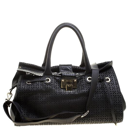 Preload https://img-static.tradesy.com/item/26426988/jimmy-choo-perforated-rosa-flap-over-black-leather-tote-0-0-540-540.jpg