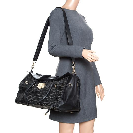 Jimmy Choo Leather Tote in Black Image 2