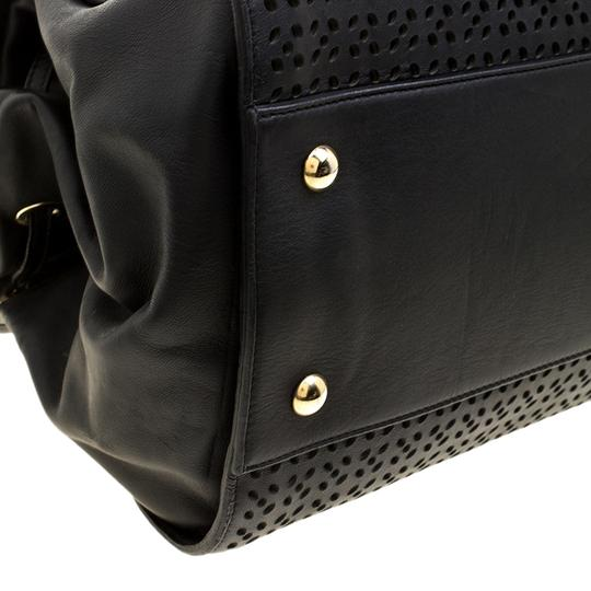 Jimmy Choo Leather Tote in Black Image 5