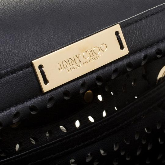 Jimmy Choo Leather Tote in Black Image 6