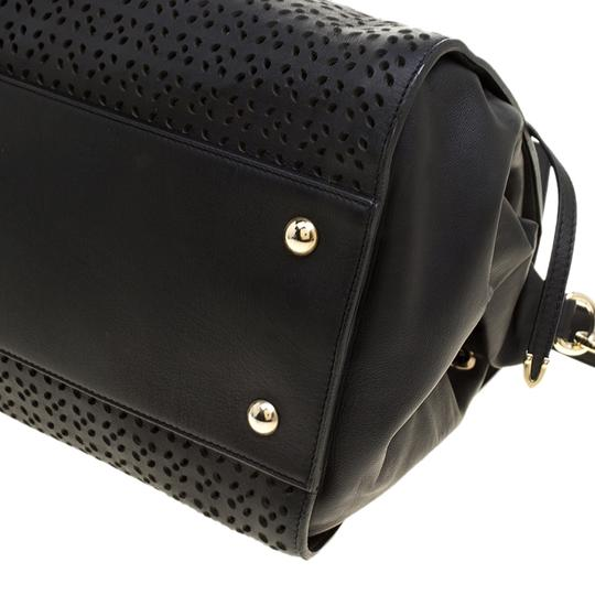 Jimmy Choo Leather Tote in Black Image 7