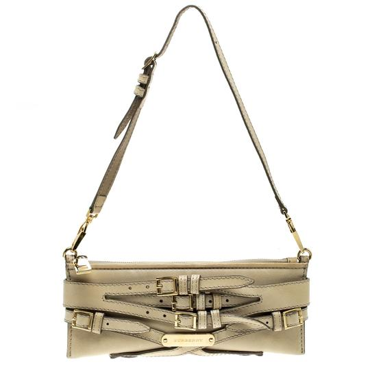 Burberry Leather Fabric Shoulder Bag Image 0